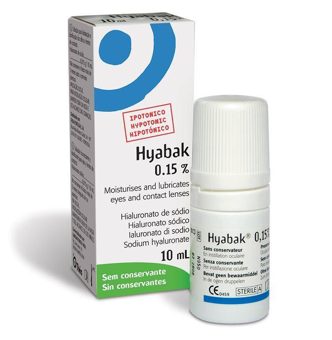 HYABAK SOLUCION HIDRATACION OCULAR 10 ML
