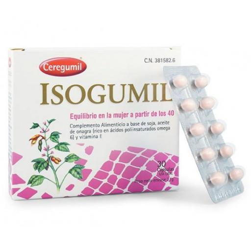 ISOGUMIL 30 CAPSULAS