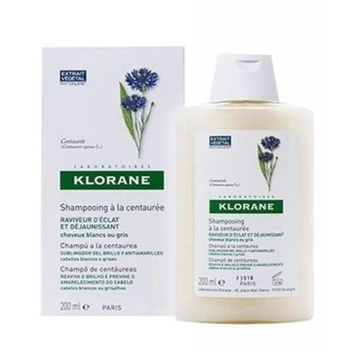 KLORANE CHAMPU CENTAUREA 200ML