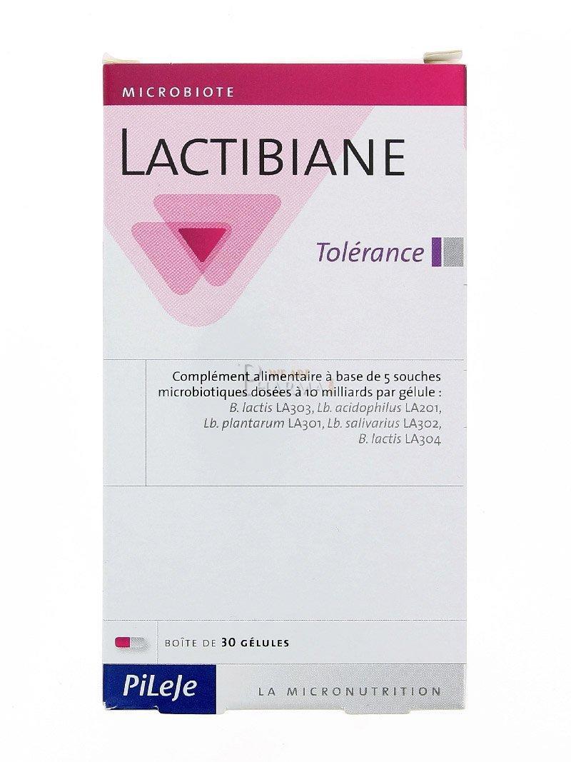 LACTIBIANE TOLERANCE 30 CAPSULAS