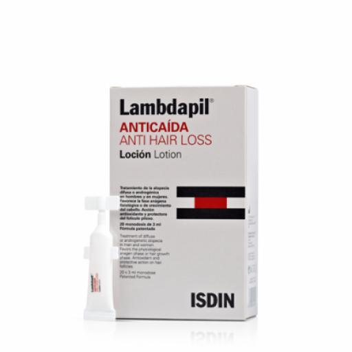 LAMBDAPIL ANTICAIDA LOCION ANTICAIDA 20 MONODOSIS 3 ML
