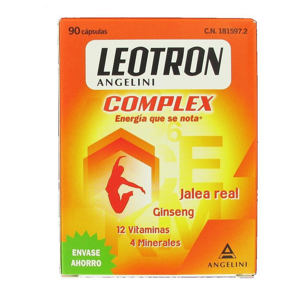 LEOTRON COMPLEX ANGELINI 90 CAPSULAS
