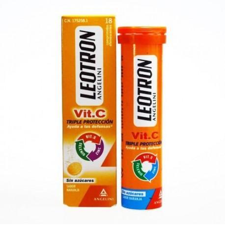 LEOTRON VIT C 18 COMPRIMIDOS