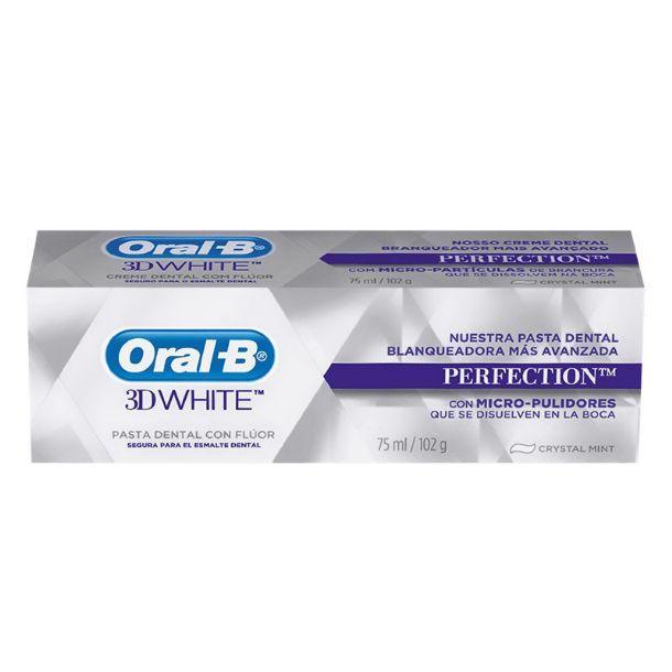 ORAL-B 3DWHITE LUXE PERFECTION PASTA DENTAL 75 ML