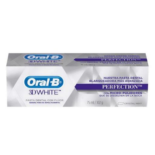 ORAL-B 3DWHITE LUXE PERFECTION PASTA DENTAL 75 ML