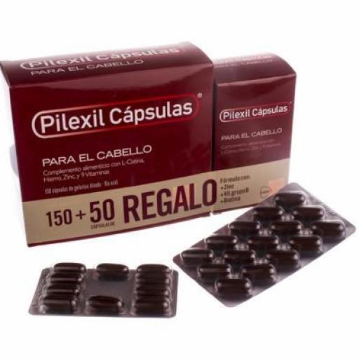 PILEXIL 150+50 CAPSULAS
