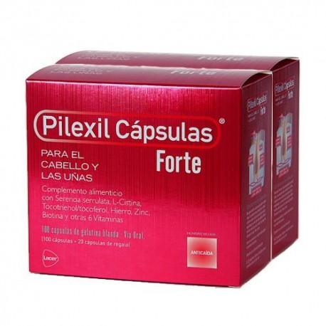 PILEXIL FORTE 100 CAPSULAS 2 UNIDADES