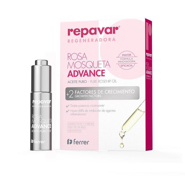 REPAVAR ACEITE REGENERADOR ADVANCE 15 ML