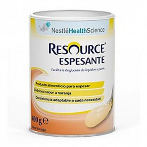 RESOURCE ESPESANTE SABOR NARANJA 400 GR