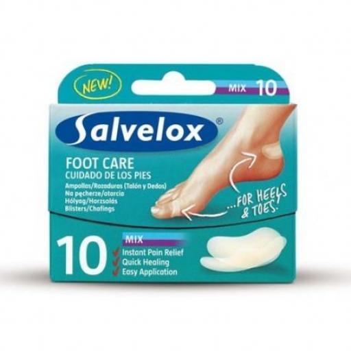 SALVELOX HIDROCOLOIDES MIX 10 UNIDADES