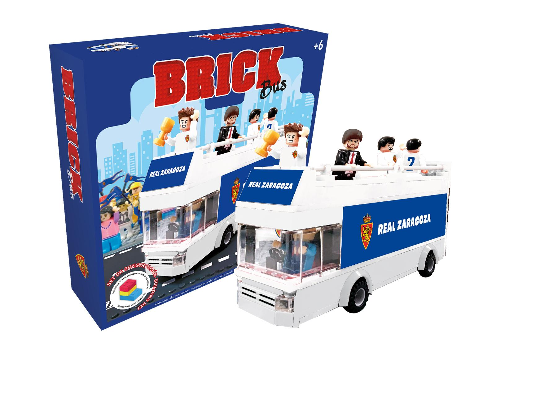 Brick Bus Real Zaragoza