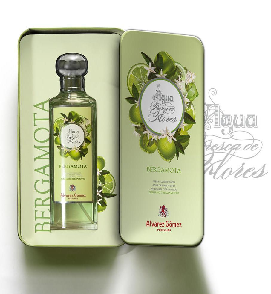 Lata aguas frescas de ALVAREZ GOMEZ bergamota edición limitada