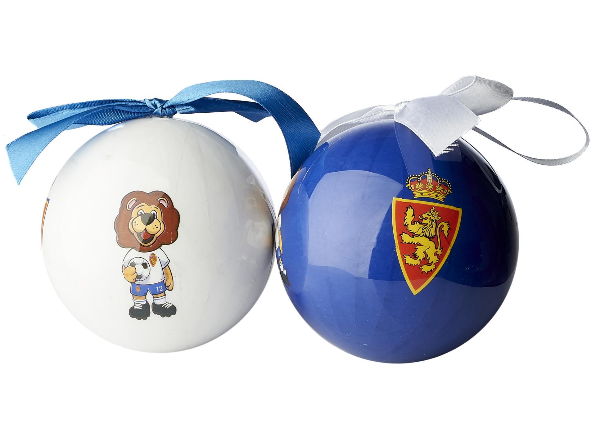 Bolas de Navidad Blanquillo