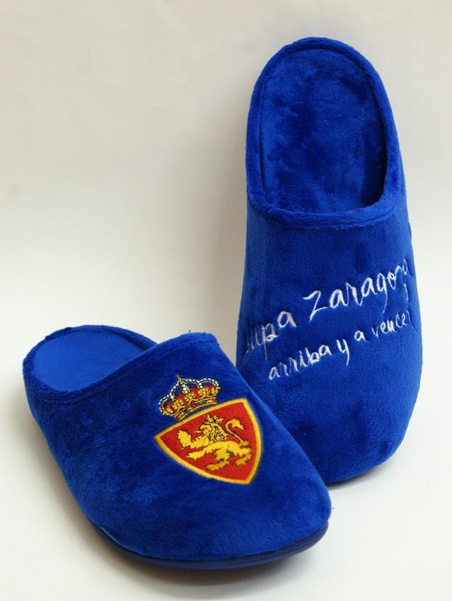 zapatillas casa azules
