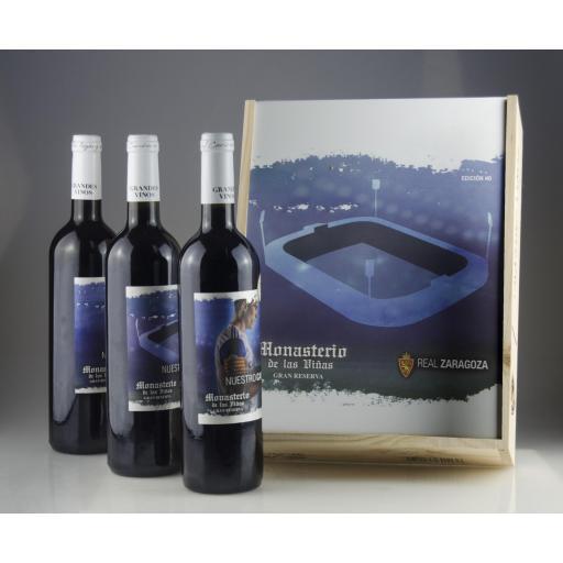 Caja de madera premium vino Real Zaragoza EDICIÓN#0 [2]