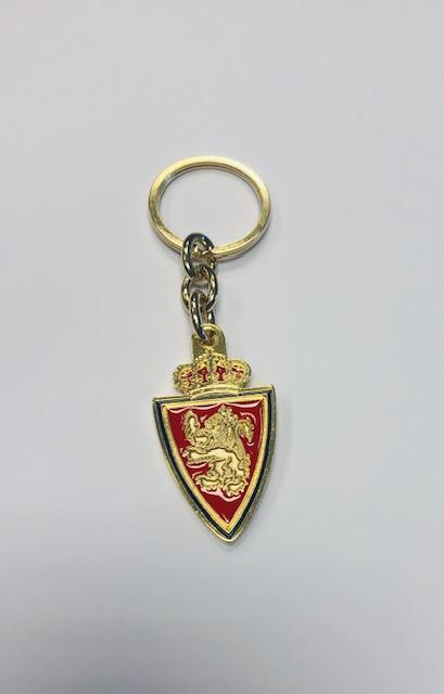 Llavero metal escudo color