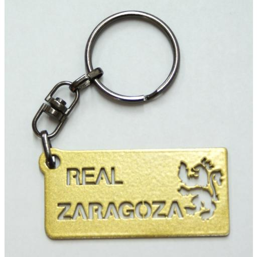 Llavero forja Real Zaragoza