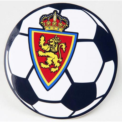 Pegatina balón Real Zaragoza