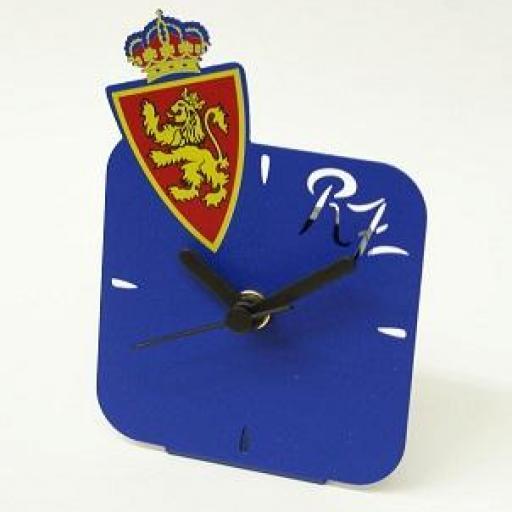 Reloj sobremesa forja escudo color