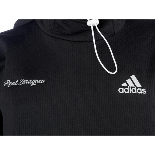 Sudadera negra  capucha adidas [1]