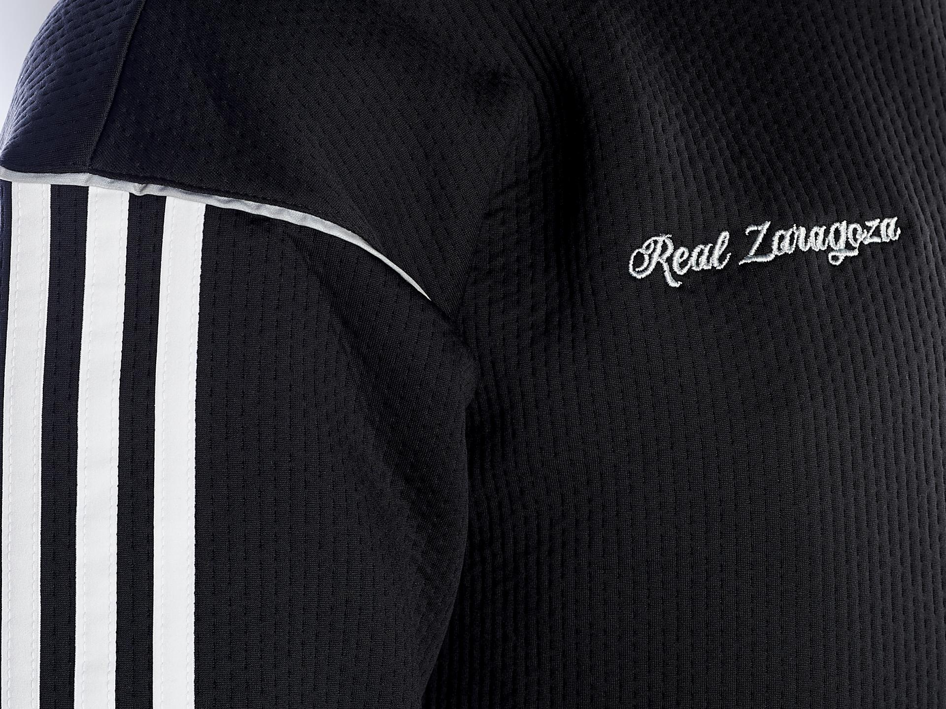 Sudadera negra  capucha adidas