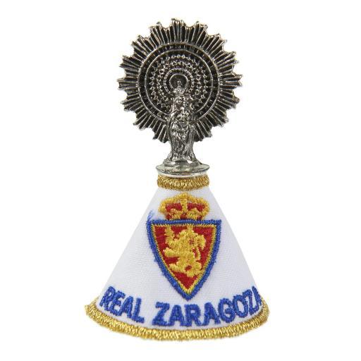 Virgen del Pilar con manto Real Zaragoza [0]