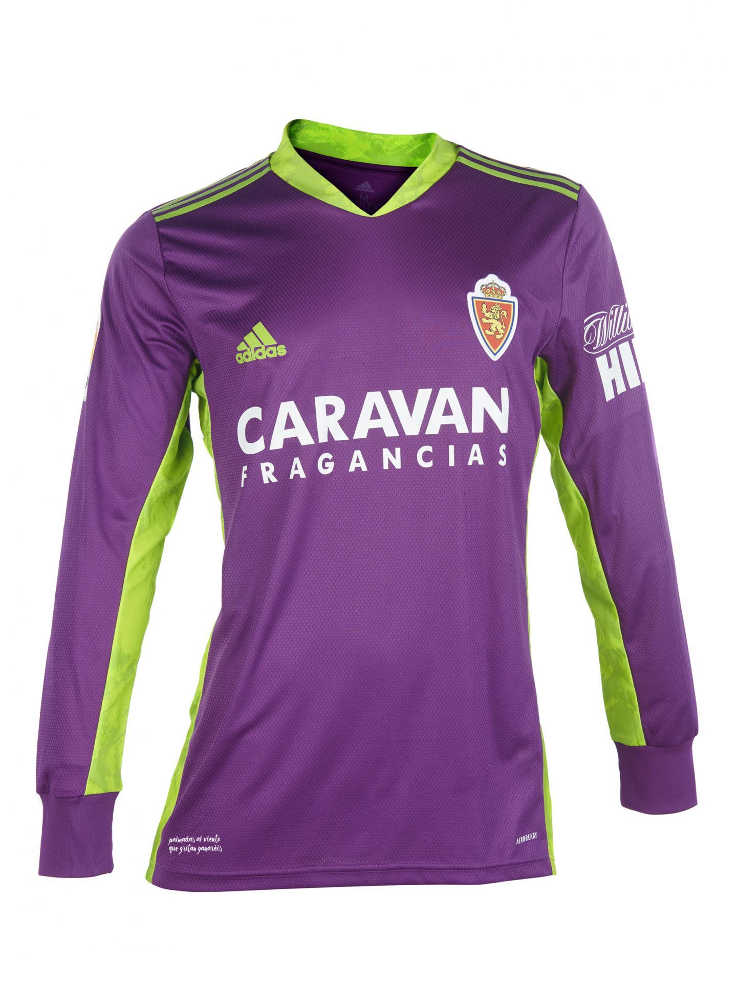 Camiseta portero morada 2020-2021