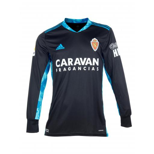 Camiseta portero negra 2020-2021