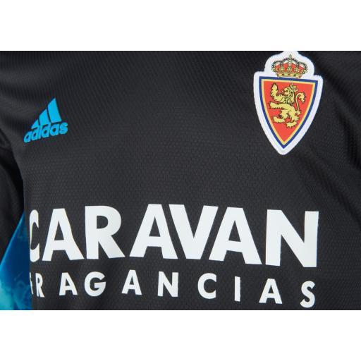 Camiseta infantil portero negra 2020-2021 [1]