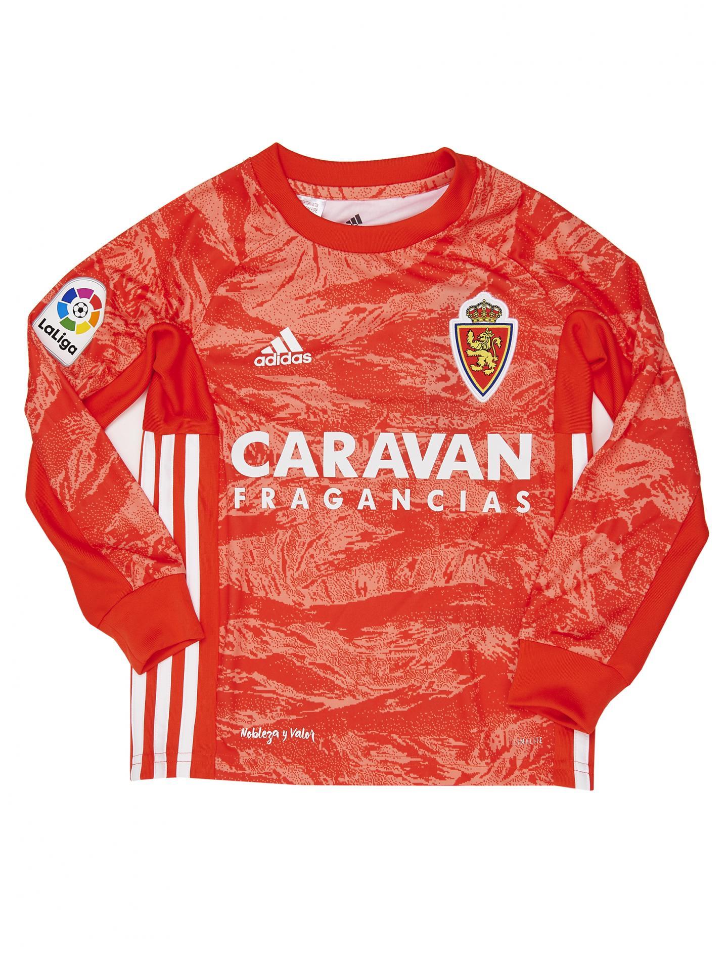 Camiseta infantil  portero coral 2019-2020