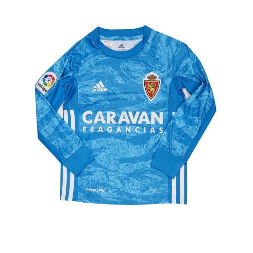Camiseta infantil portero azul 2019-2020