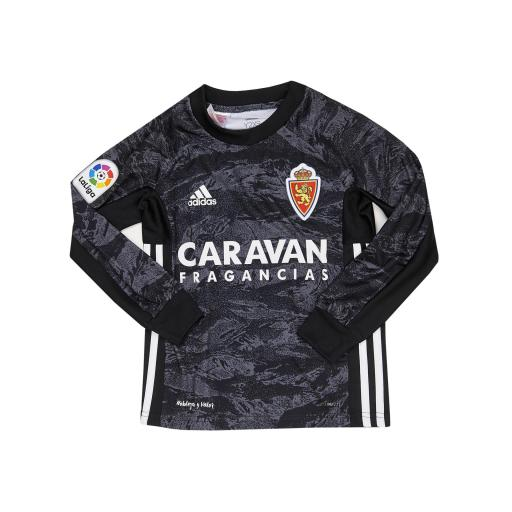 Camiseta infantil portero negra 2019-2020