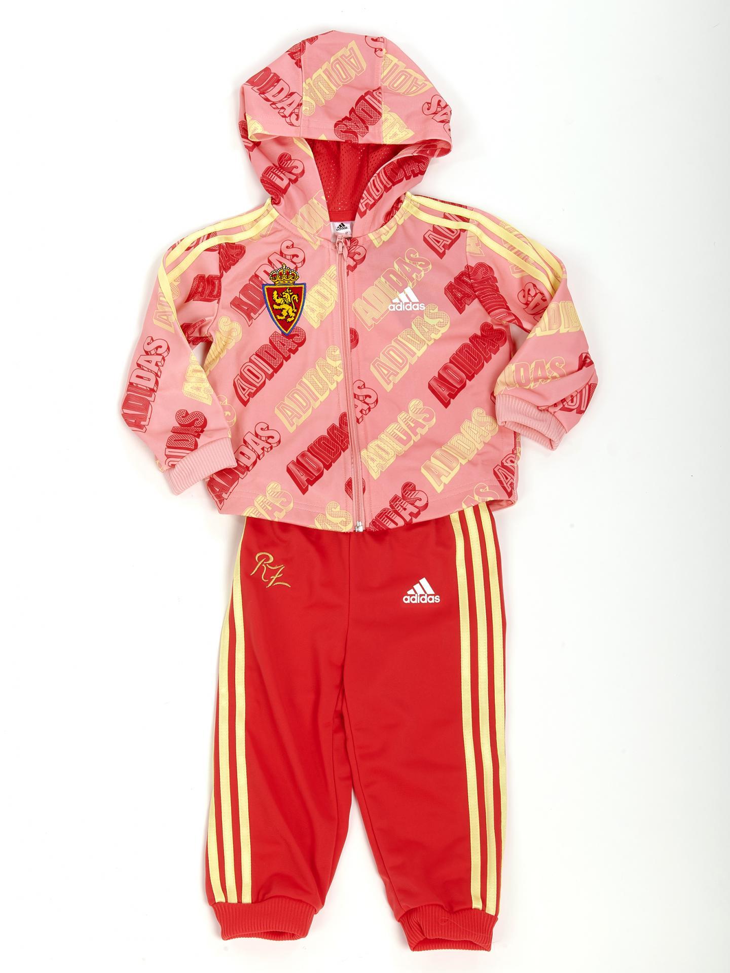 Chandal adidas rosa bebé