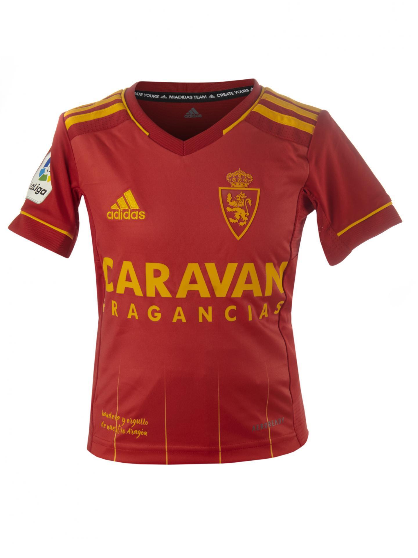 Camiseta infantil segunda equipación 2020-2021