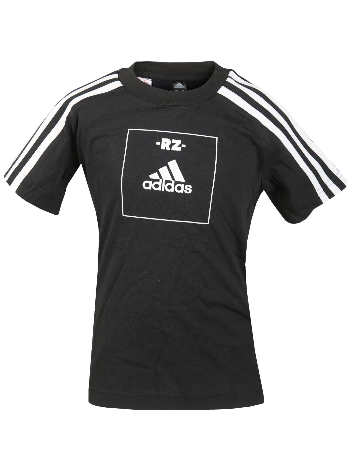 Camiseta infantil adidas logo