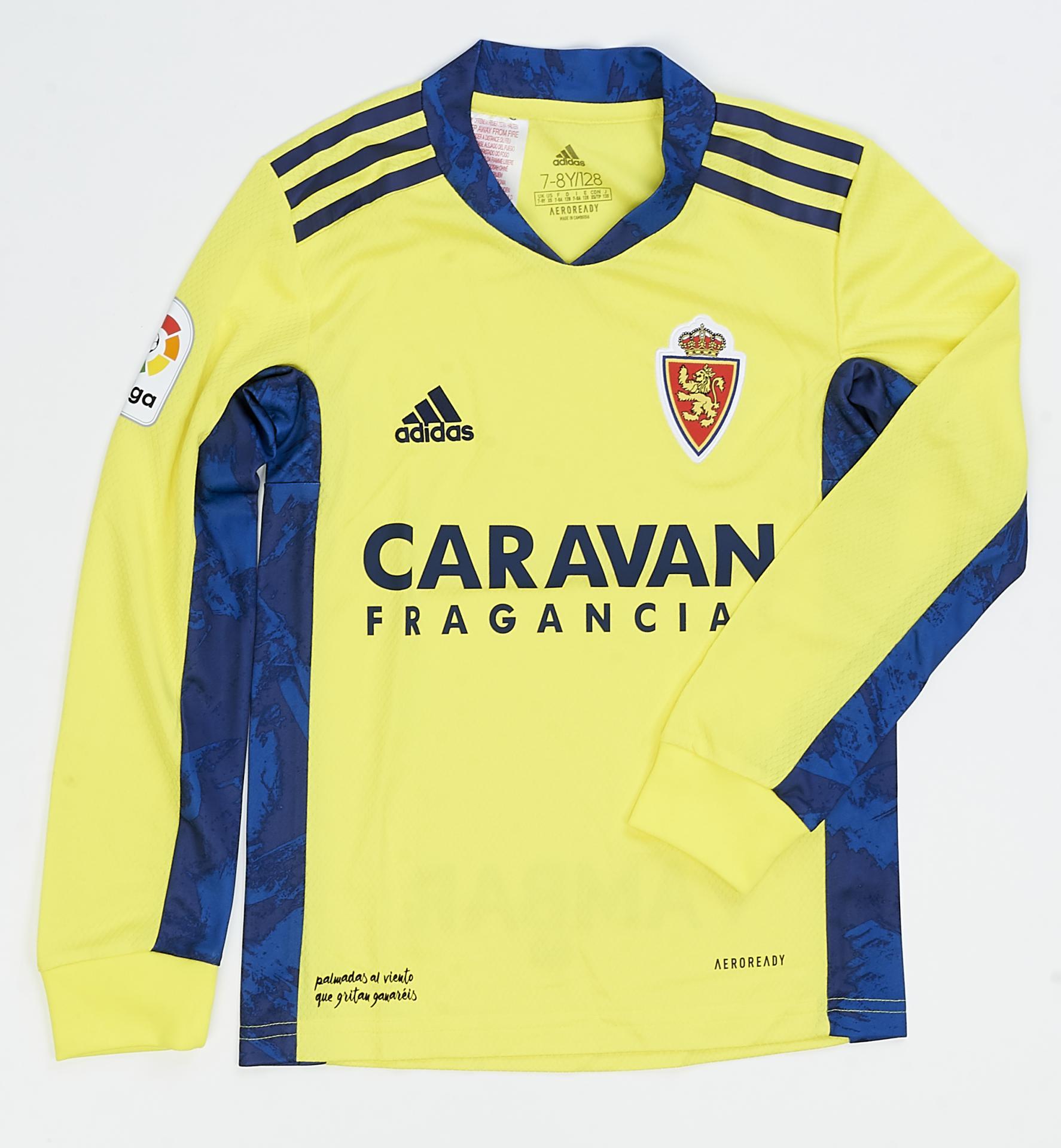 Camiseta infantil portero amarilla 2020-2021