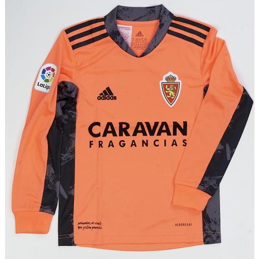 Camiseta infantil portero coral 2020-2021