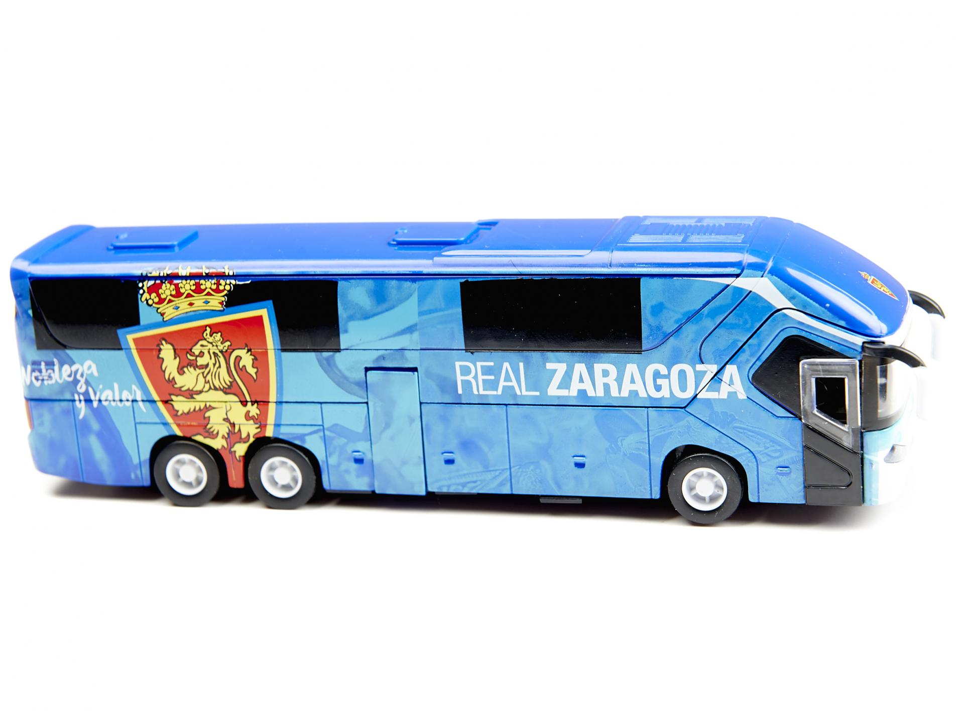 Réplica autobús oficial Real Zaragoza