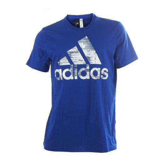 Camiseta algodón adidas con logo