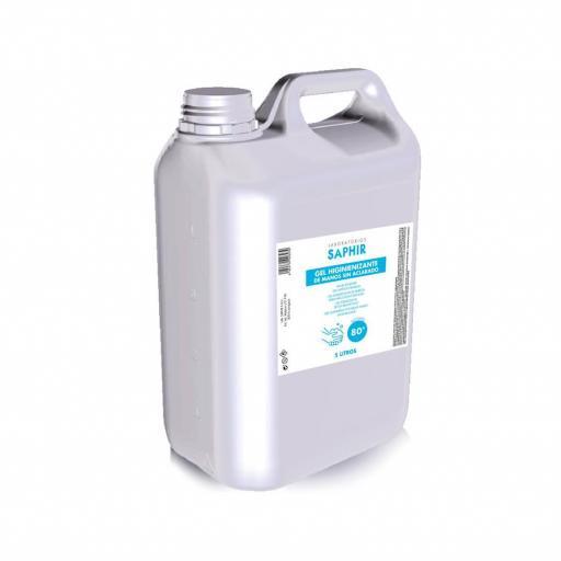 Gel higienizante CARAVAN en garrafa de 5 litros