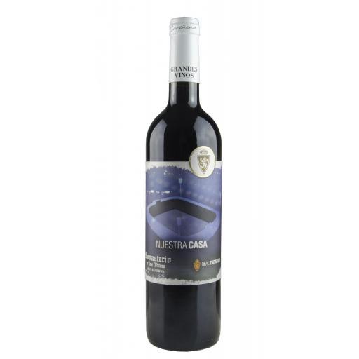 Caja de madera estándar vino Real Zaragoza (Gran Reserva 2013) [1]
