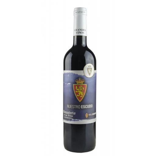 Caja de madera estándar vino Real Zaragoza (Gran Reserva 2013) [3]