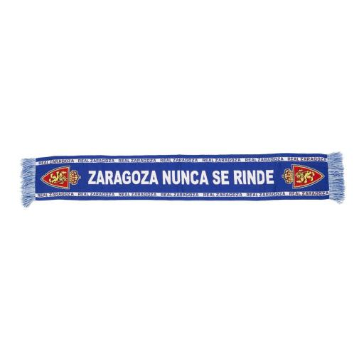 BUFANDA ZARAGOZA NUNCA SE RINDE