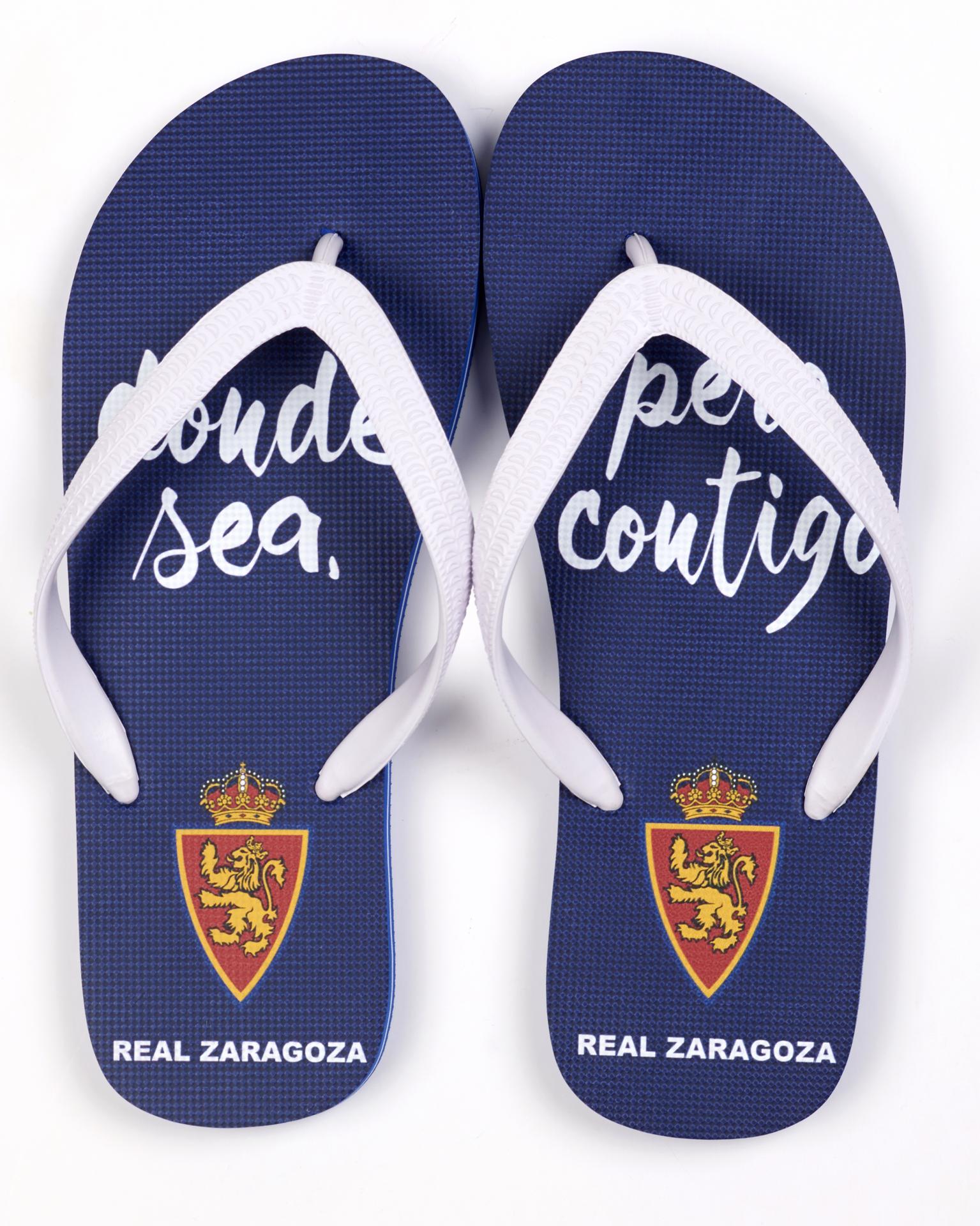 Chanclas Real Zaragoza