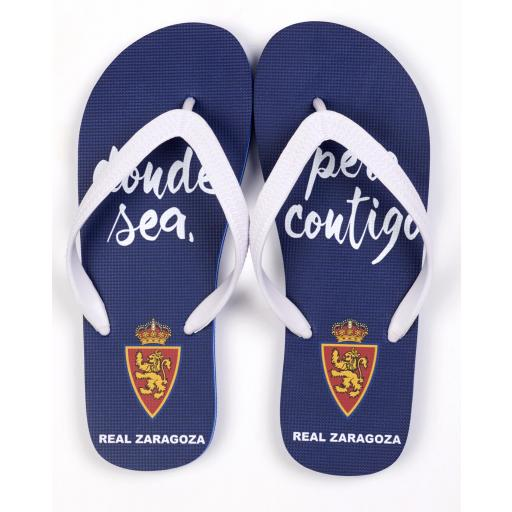 Chanclas Real Zaragoza
