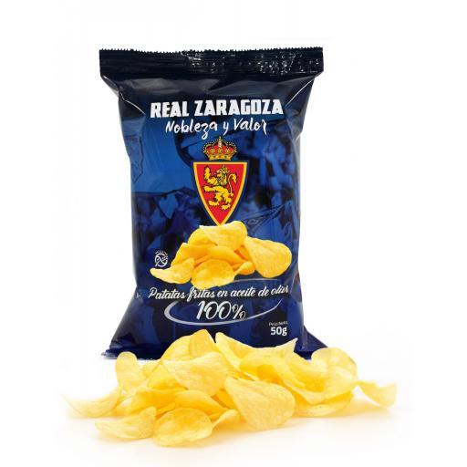 Patatas fritas Real Zaragoza (caja de 24 bolsas) [1]