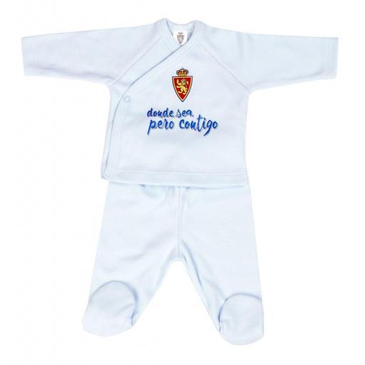 Jubón recién nacido azul