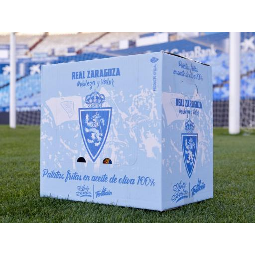 Patatas fritas Real Zaragoza (caja de 24 bolsas) [2]
