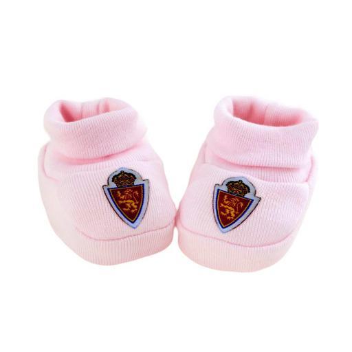 Patucos bebé rosa [0]