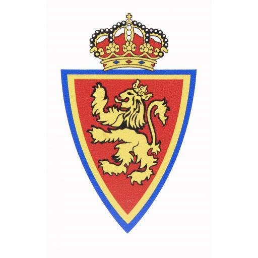 Pegatina pequeña escudo Real Zaragoza